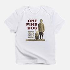 Vintage One Fine Dog Infant T-Shirt