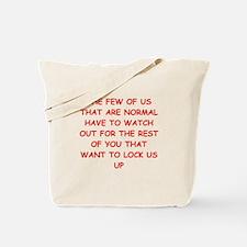paranoid Tote Bag