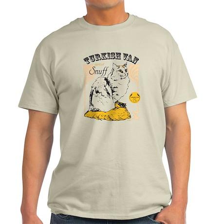 Turkish Van Snuff Ash Grey T-Shirt