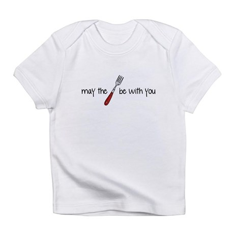 may the fork be with you Infant T-Shirt