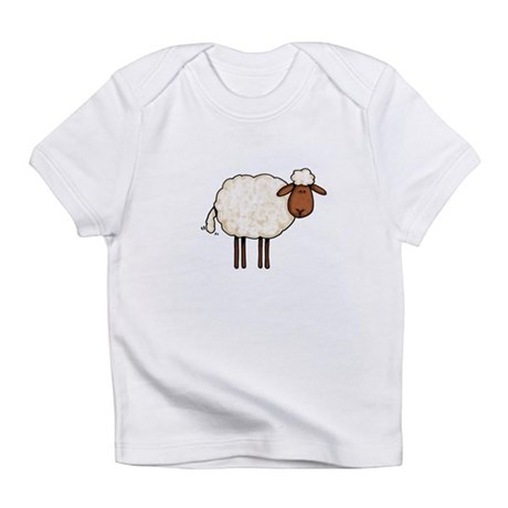 white sheep Infant T-Shirt