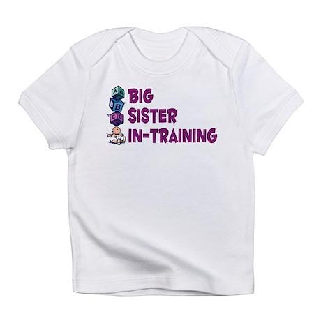 Big Sister In-Training Onesie Infant T-Shirt
