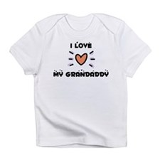 I Love My Grandaddy Onesie Infant T-Shirt