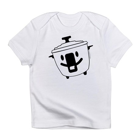 The Happy Rice Cooker Creeper Infant T-Shirt