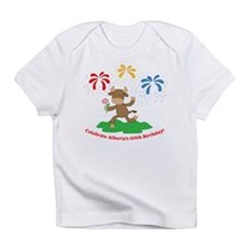 Alberta Centennial Buffalo Kid Creeper Infant T-Sh