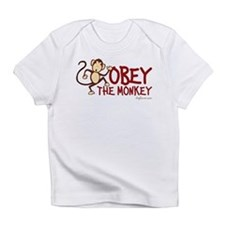 Obey The Monkey Infant T-Shirt