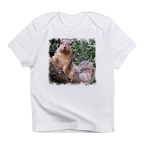 Tree Squirrel Creeper Infant T-Shirt