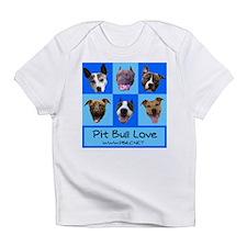Pitbull Love Creeper Infant T-Shirt