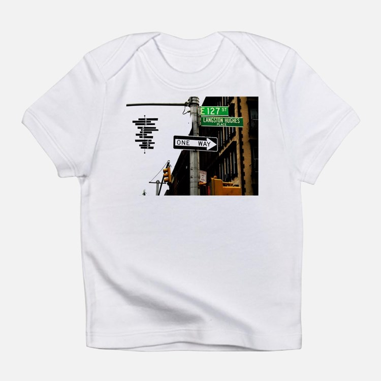 Langston Hughes Creeper Infant T-Shirt
