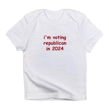 I'M VOTING REPUBLICAN IN 2024 Creeper Infant T-Shi