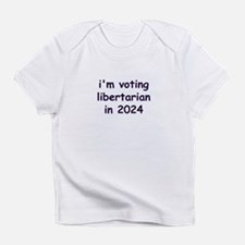 I'm voting Libertarian in 2024 Creeper Infant T-Sh