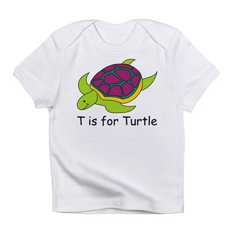T is for Turtle Infant T-Shirt