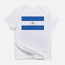 Nicaragua Flag Creeper Infant T-Shirt