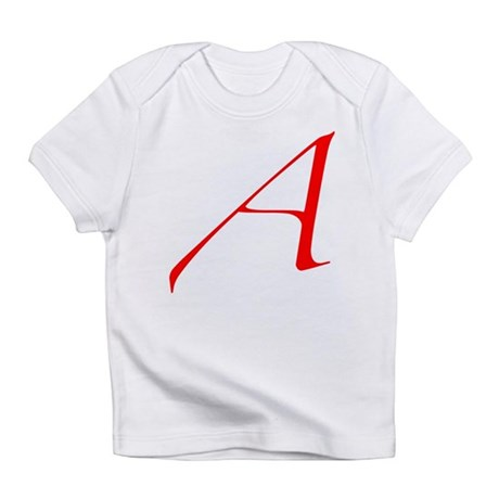 """The Atheist """"A"""" Infant T-Shirt"""
