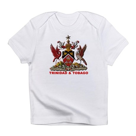 Trinidad Coat of Arms Creeper Infant T-Shirt