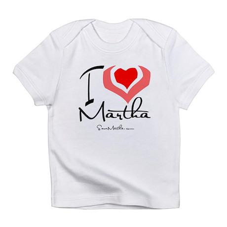 I Heart Martha Creeper Infant T-Shirt