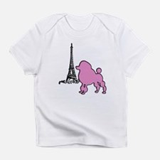 Poodle In Paris Creeper Infant T-Shirt