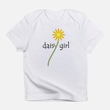 Yellow Daisy Girl Infant T-Shirt
