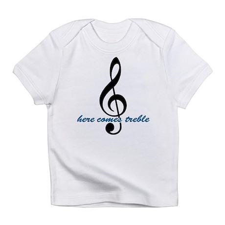 Here Comes Blue Treble Infant T-Shirt