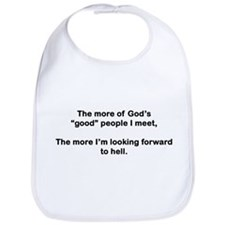 "God's ""Good"" People Bib"