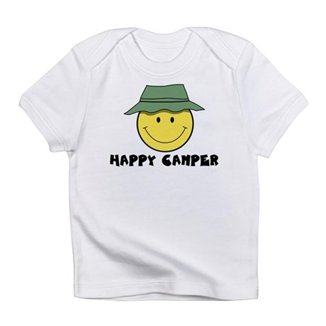 Happy Camper camping Infant T-Shirt