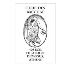Euripides' Bacchae Postcards (Package of 8)