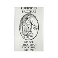 Euripides' Bacchae Rectangle Magnet