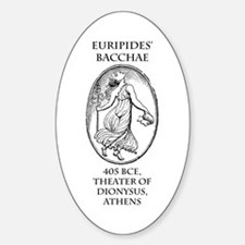 Euripides' Bacchae Decal