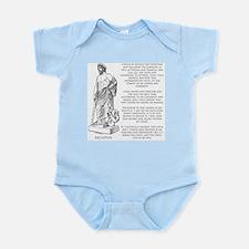 Hippocratic Oath Infant Bodysuit