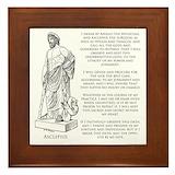 Hippocrates Framed Tiles