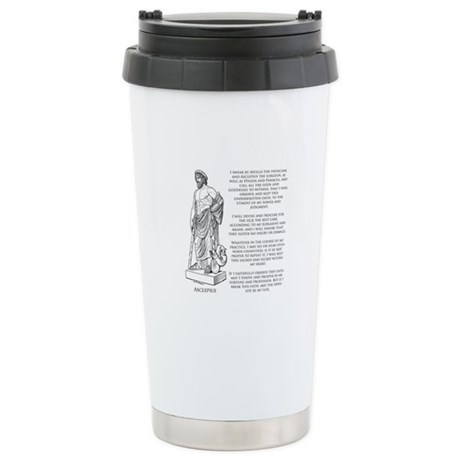 Hippocratic Oath Stainless Steel Travel Mug