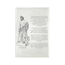 Hippocratic Oath Rectangle Magnet