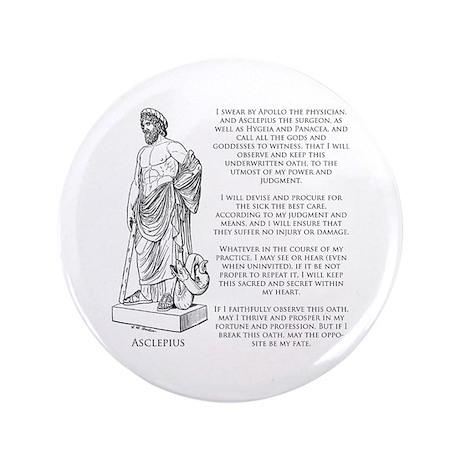 "Hippocratic Oath 3.5"" Button (100 pack)"