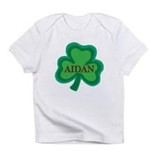 Aidan Irish Baby Boy Name Creeper Infant T-Shirt