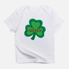 Aidan Irish Baby Boy Name Creeper Infant T-Shirt