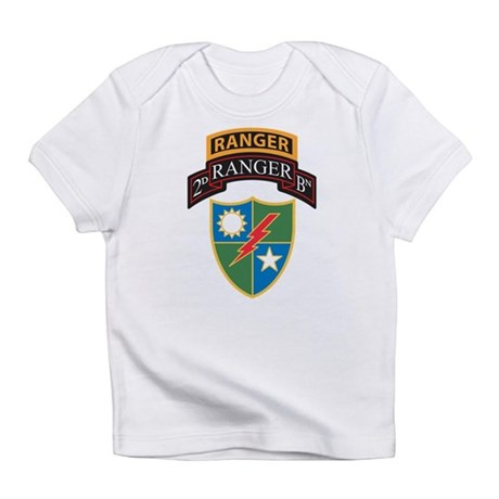 2nd Ranger Bn With Ranger Tab Infant T Shirt By Admin Cp439612