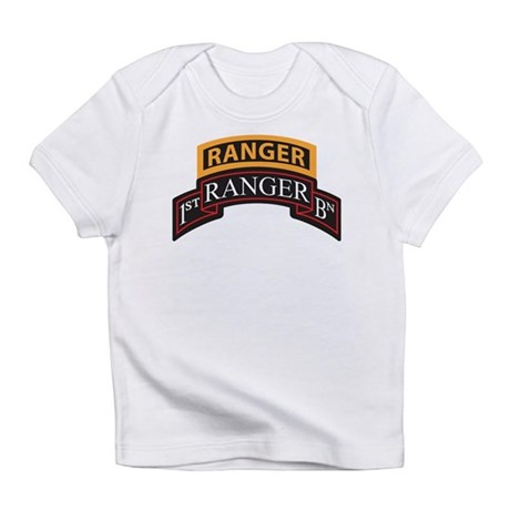 1st Ranger BN Scroll with Ran Infant T-Shirt