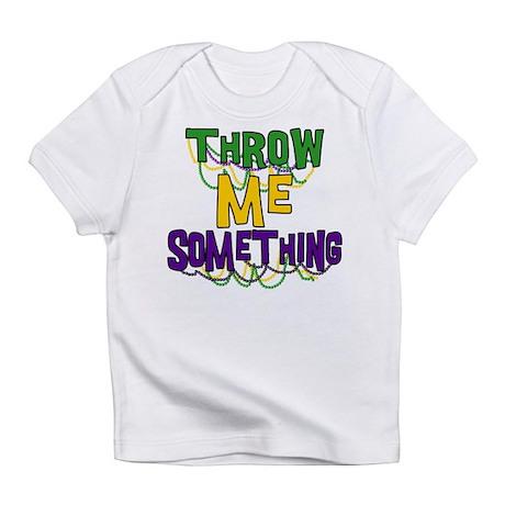 Mardi Gras Throw Me Something Infant T-Shirt