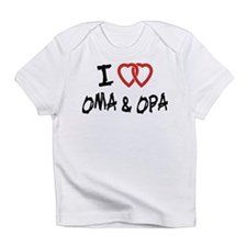 I Love Oma and Opa Infant T-Shirt