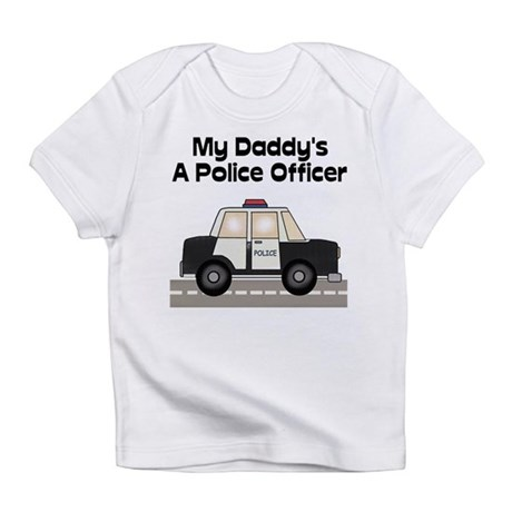My Daddy's A Police Officer Creeper Infant T-Shirt