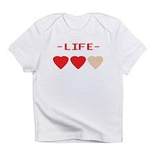 LIFE (hearts) - Creeper Infant T-Shirt