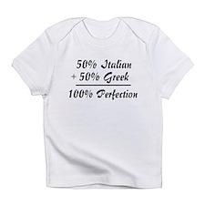 Half Greek, Half Italian Creeper Infant T-Shirt