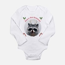 Baby's First Christmas Long Sleeve Infant Bodysuit