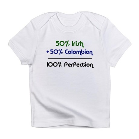 Irish and Colombian Infant T-Shirt