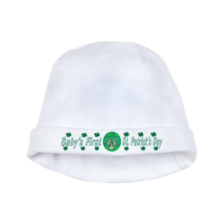 Baby's First St. Patrick's Day baby hat