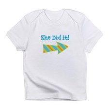 SheDidIt Infant T-Shirt