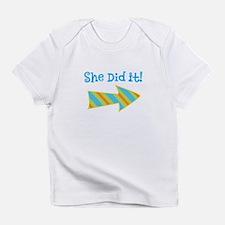 SheDidIt Infant T-Shirt