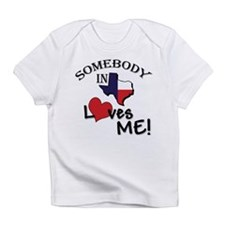 Somebody in Texas Loves Me Creeper Infant T-Shirt