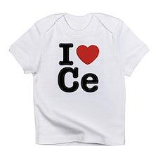 I love C e Creeper Infant T-Shirt