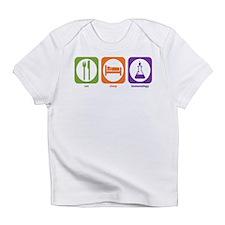 Eat Sleep Immunology Infant T-Shirt